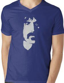 Frank Zappa Silhouette (No Text) Mens V-Neck T-Shirt