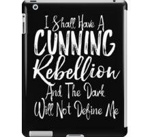 A Cunning Rebellion Geek Girl Manifesto iPad Case/Skin