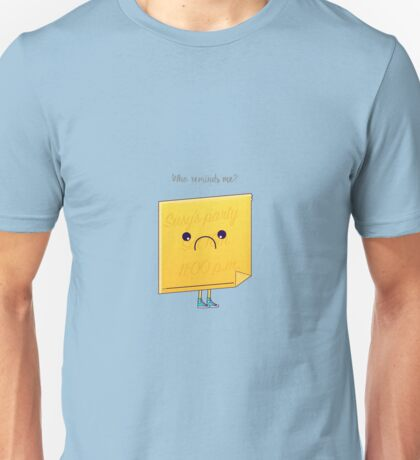 Post it Unisex T-Shirt