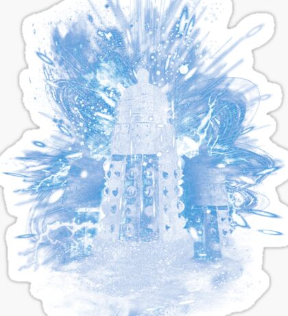 exterminate storm Sticker