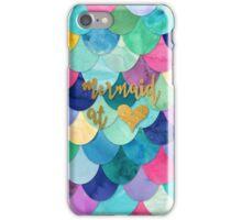 Mermaid at Heart iPhone Case/Skin