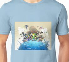 The Legend of Zelda Wind Waker : Characters Unisex T-Shirt