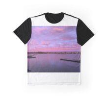 Pink/Purple Sunset Graphic T-Shirt
