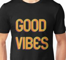 Good Vibes - Retro Feeling Unisex T-Shirt