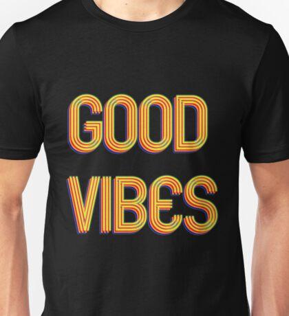 Good Vibes - Retro Feeling Unisex T-Shirt