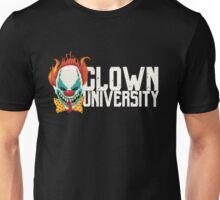 Scary Clown University Halloween  Unisex T-Shirt