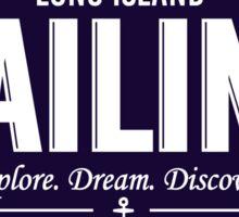 Long Island Sailing Sticker