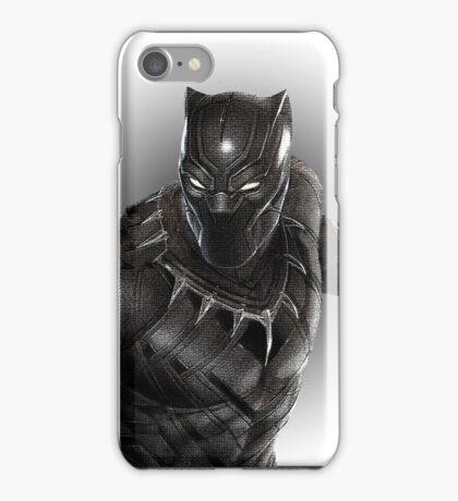 Super heroes Black Panther iPhone Case/Skin