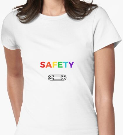 Safety Womens Fitted T-Shirt