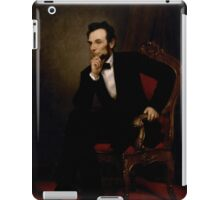 ABRAHAM LINCOLN PRESIDENTIAL PORTRAIT iPad Case/Skin
