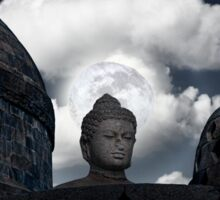 Buddha Halo. Sticker