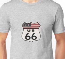 Vintage Route US 66 Unisex T-Shirt