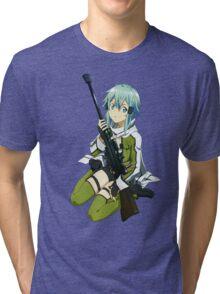 Sinon Sword art online II Tri-blend T-Shirt