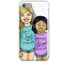 Gracie & Alba - BFFs iPhone Case/Skin