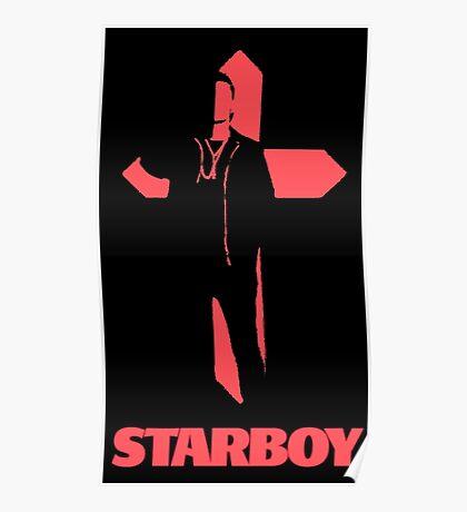 Starboy Cross Poster