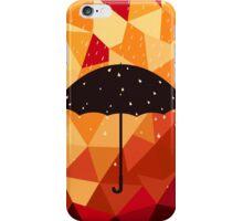 Autumn rain iPhone Case/Skin