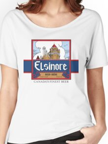 """Elsinore Beer"" - as seen on ""Strange Brew"" Women's Relaxed Fit T-Shirt"