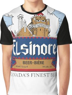 """Elsinore Beer"" - as seen on ""Strange Brew"" Graphic T-Shirt"