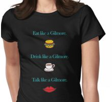 Like a Gilmore Womens Fitted T-Shirt