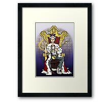 Honey, You Should See Me In A Crown Framed Print