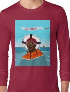 Lil Yachty in ocean Lil Boat Long Sleeve T-Shirt