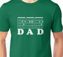 F chord DAD white Unisex T-Shirt