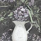 Purple Luxury by Sherry Hallemeier