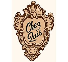 """Chez Quis"" Restaurant Logo - as seen on ""Ferris Bueller's Day Off"" Photographic Print"