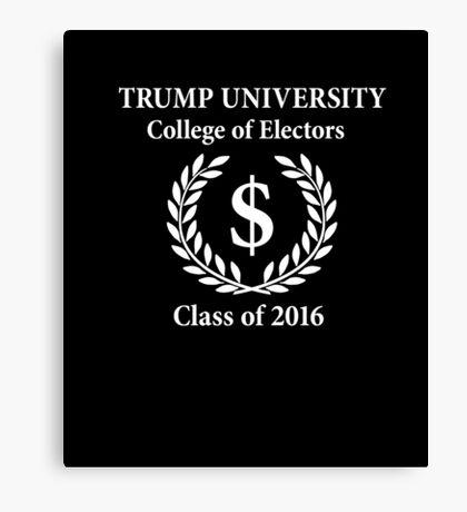 Trump University Elections Canvas Print