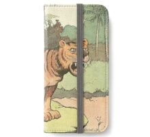 Tiger Roars in the Jungle iPhone Wallet/Case/Skin