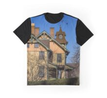 Old House In Main Street Historic District | Cold Spring Harbor, New York Graphic T-Shirt