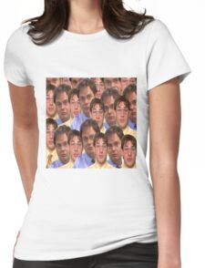 Jim as Dwight and Dwight as Jim Womens Fitted T-Shirt