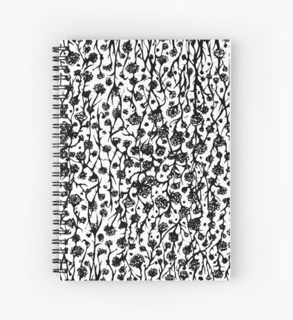 Let Your Rose Bush Flourish Spiral Notebook