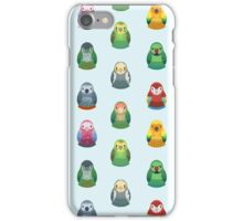 Parrot Nesting Doll Pattern iPhone Case/Skin