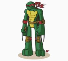 Raphael is cool, but rude by mortiwear