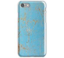Rusty Blue Metal iPhone Case iPhone Case/Skin