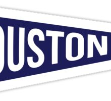 Houston Pennant Sticker