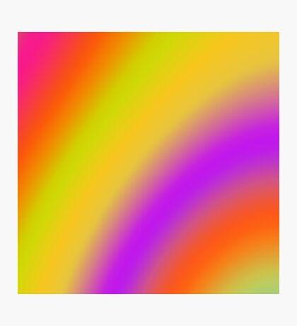Soft Colour Blend 171116(01) Photographic Print