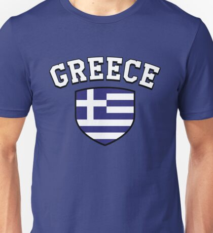 Greece Supporters Unisex T-Shirt