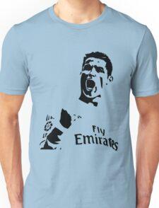 Cristiano Ronaldo Soccer Celebrate Fist Pump Unisex T-Shirt