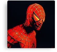 Spiderman Painting Canvas Print