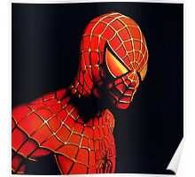 Spiderman Painting Poster