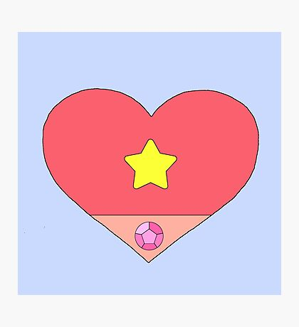 A Heart To Save The Day Photographic Print