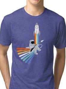 Space Rock-et Man Tri-blend T-Shirt