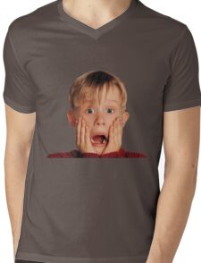 Home Alone Mens V-Neck T-Shirt