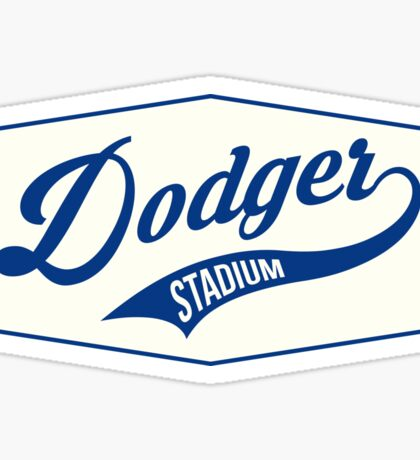 Dodger Stadium Sticker