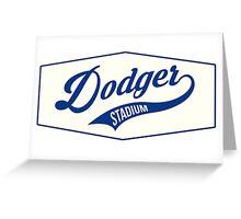 Dodger Stadium Greeting Card