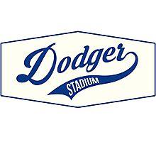 Dodger Stadium Photographic Print
