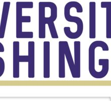 University of Washington - Style 10 Sticker