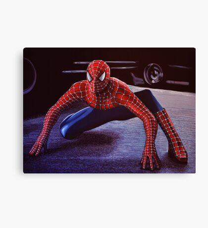 Spiderman Painting 2 Canvas Print